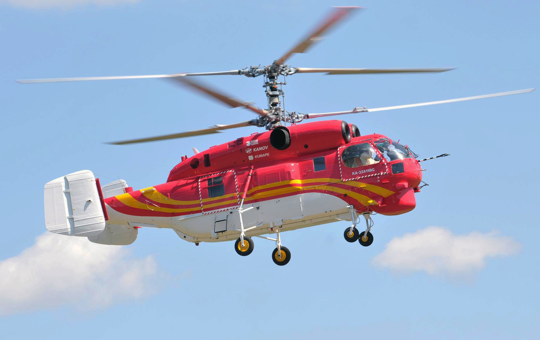 «Вертолеты России» поставили вертолет Ка-32А11ВС в Шанхай