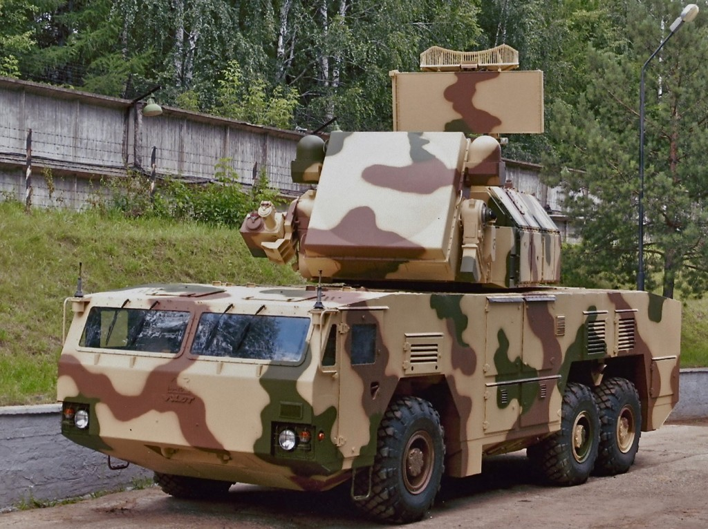 зенитные ракетные комплексы «Тор-М2У»