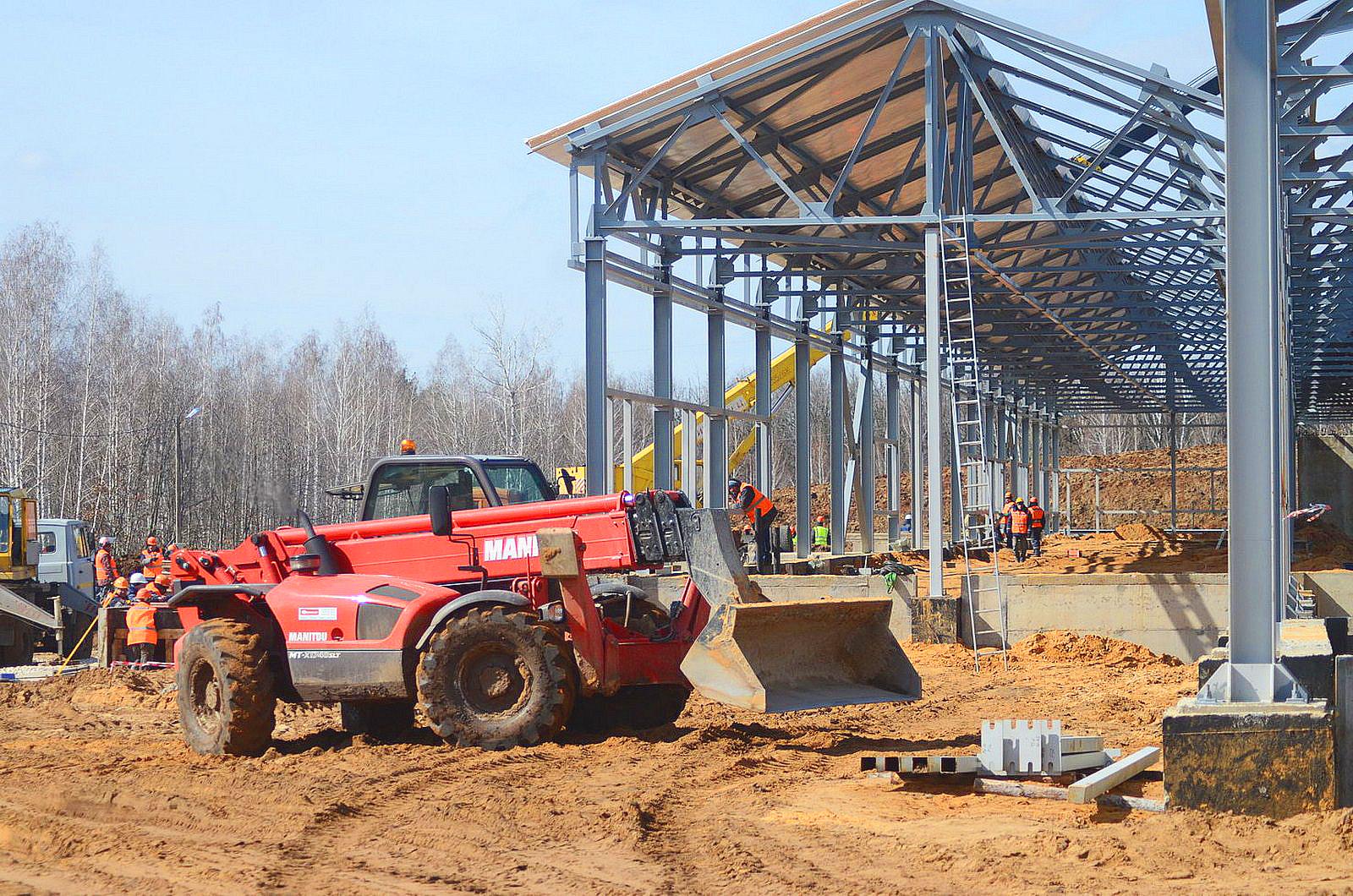 В Липецкой области строится агропромышленный комплекс
