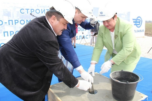 Во Владимирской области заложен завод по производству автобусов