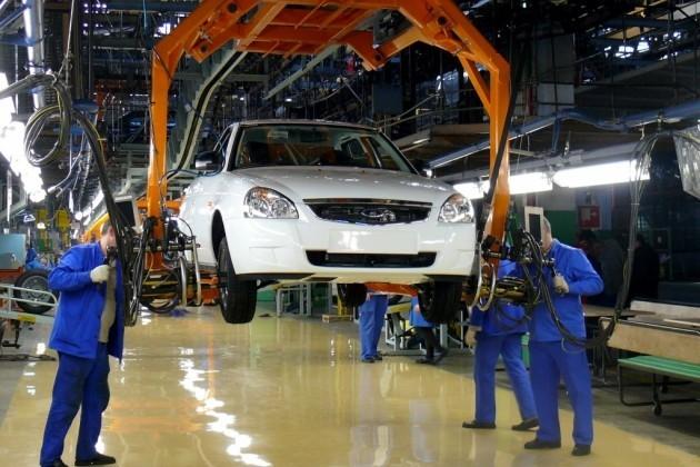 АВТОВАЗ в марте увеличил производство на 12,3 %