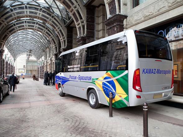 Автопарк Белгородской области пополнится автобусами Bravis