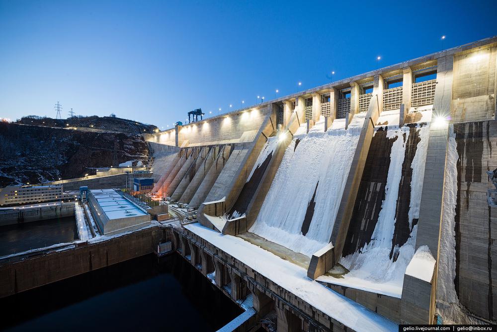 Бурейская ГЭС - самая мощная гидроэлектростанция на Дальнем Востоке.