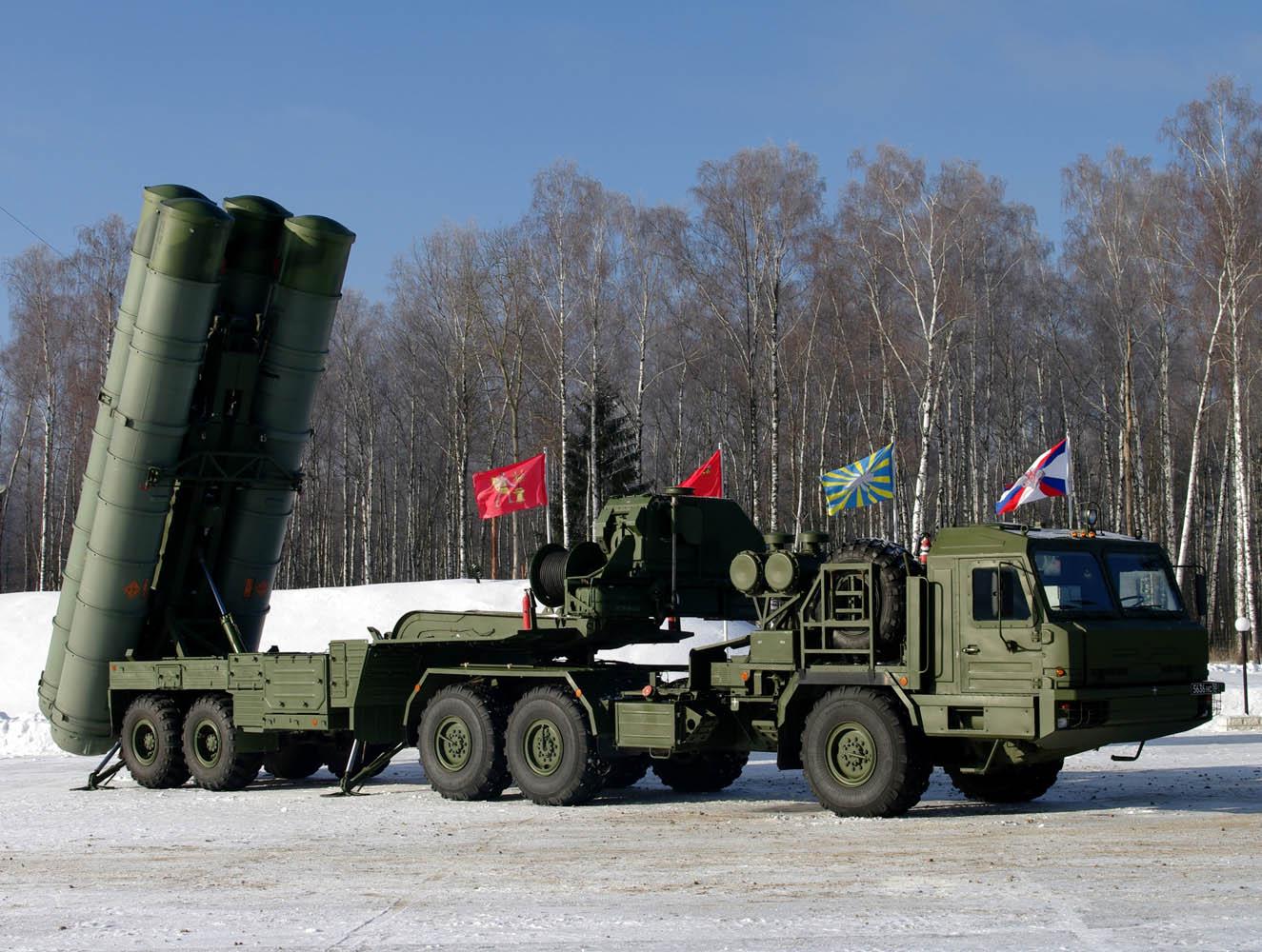 Охрану Москвы обеспечивают системы С-400