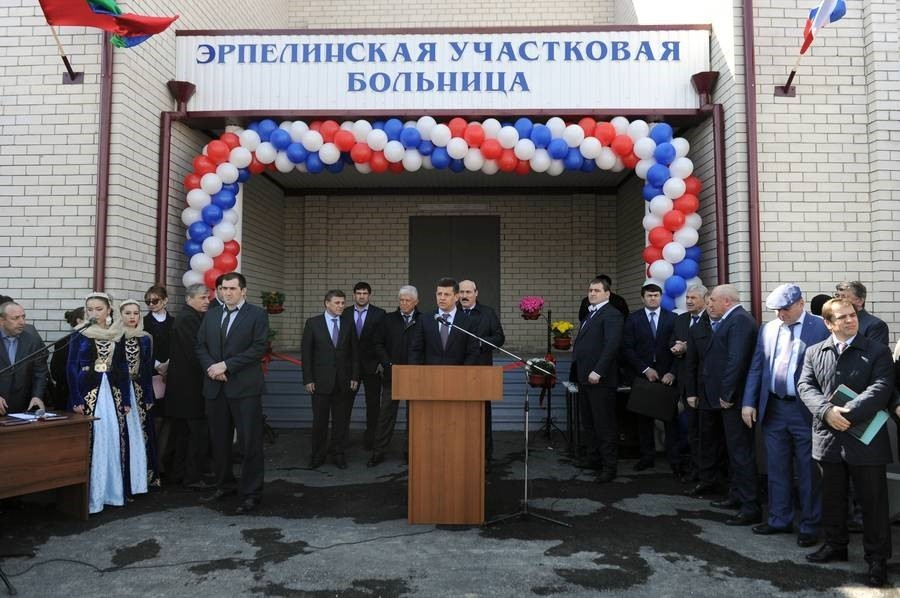 В Буйнакском районе Дагестана открыли больницу