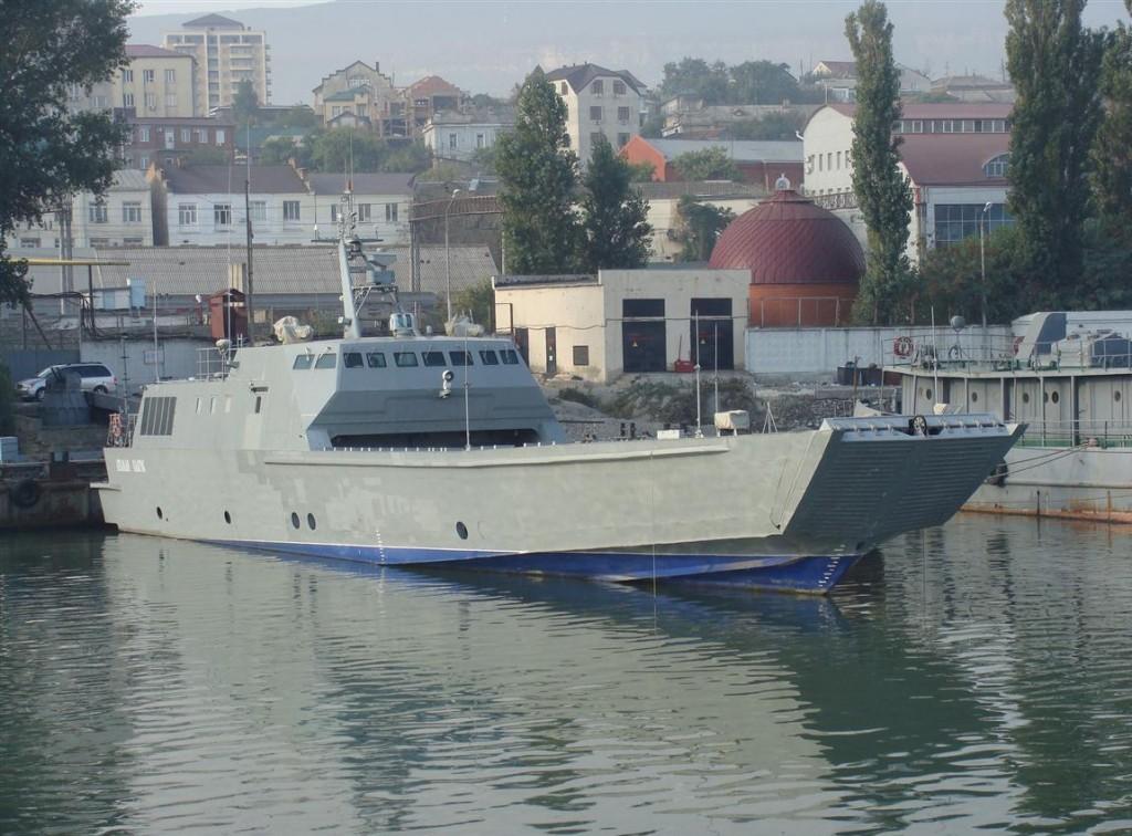 Ярославский судостроительный завод спустил на воду 2-й десантный катер проекта 21820