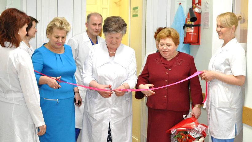 В Северодвинской детской больнице завершился ремонт хирургического отделения.