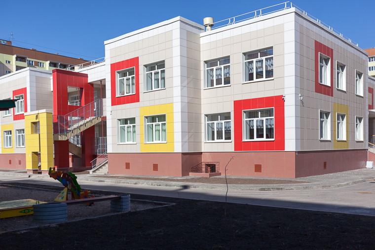 Новый детский сад на 150 мест открыли в Пскове
