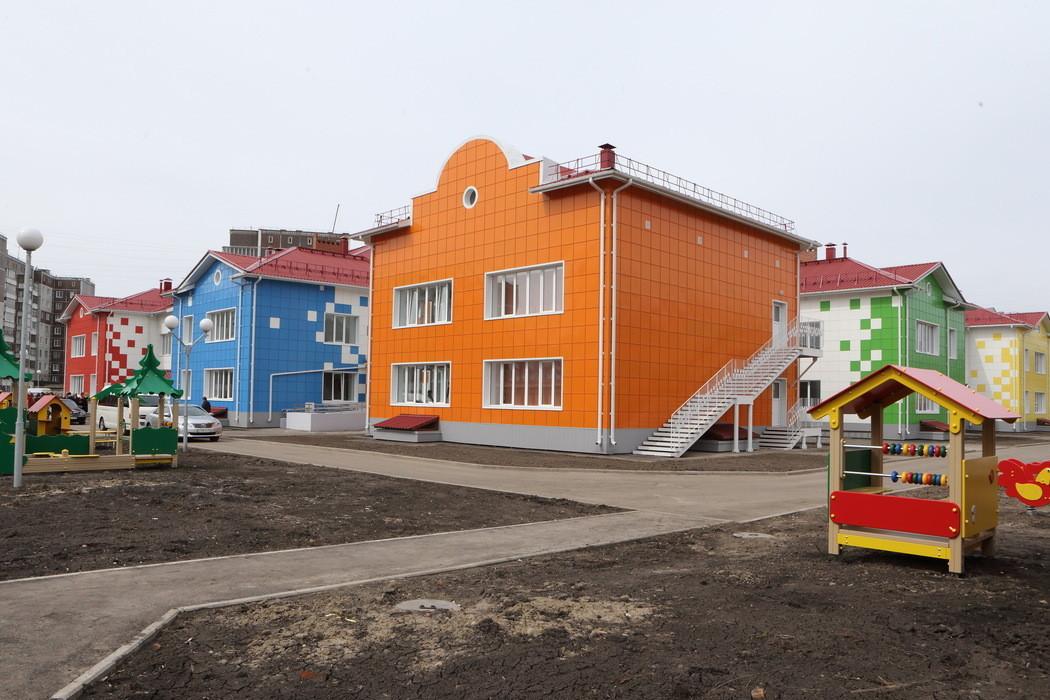 В Томской области открыли 3-й новый детский сад в 2014 году
