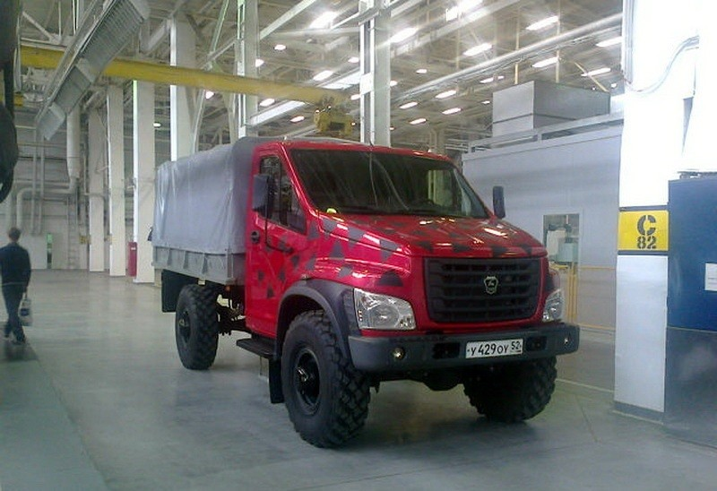 Новый ГАЗ-3308