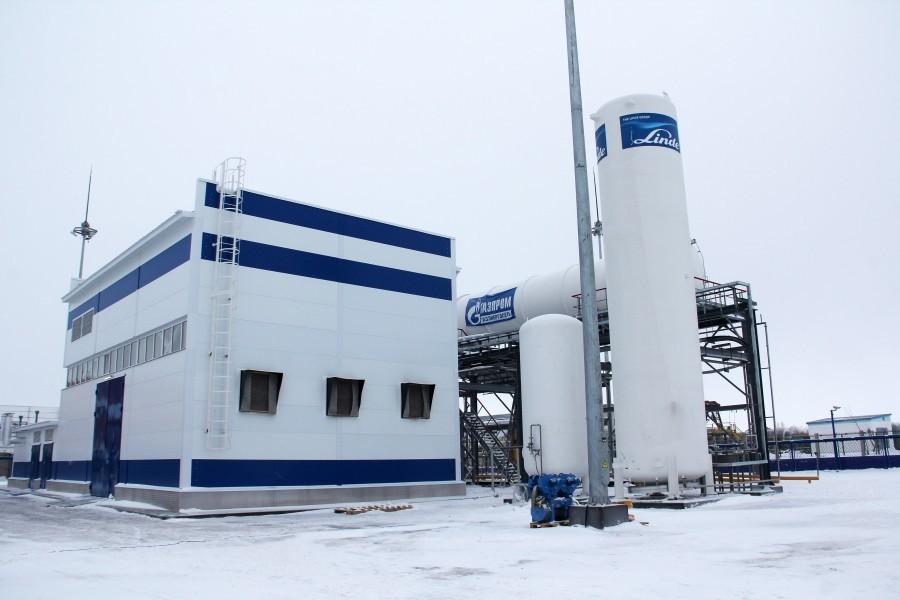 """""""Газпром газэнергосеть"""" приступил к испытаниям установки по сжижению гелия на Оренбуржском заводе"""