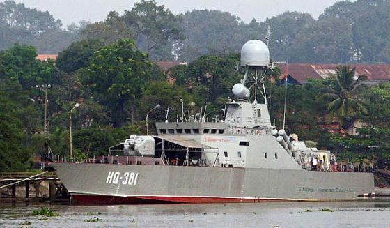 Патрульный корабль прибрежной зоны проекта ПС-500 ВМС Вьетнама Источник: Военное обозрение