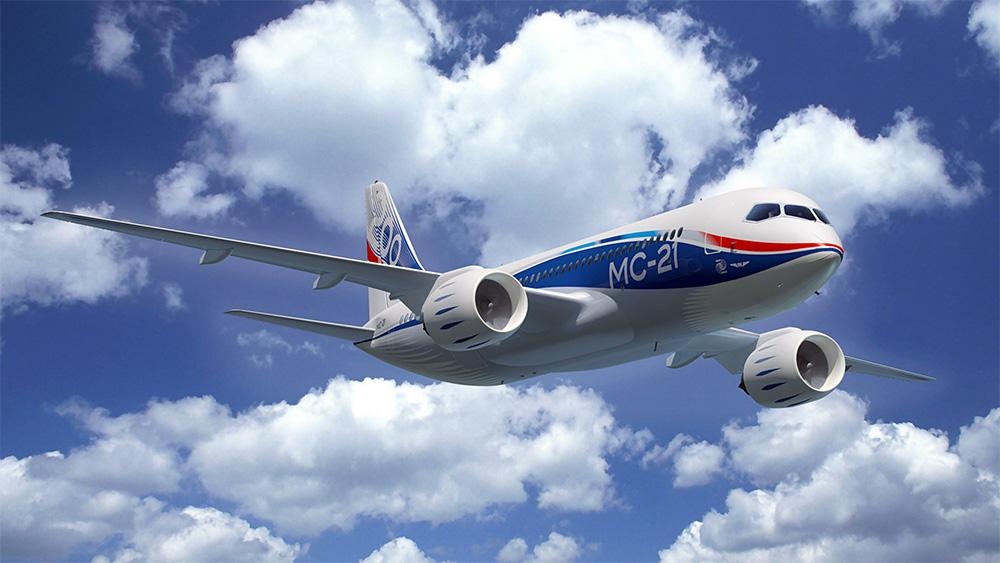 Российский магистральный самолет «Иркут» МС-21-300 проходит сертификацию