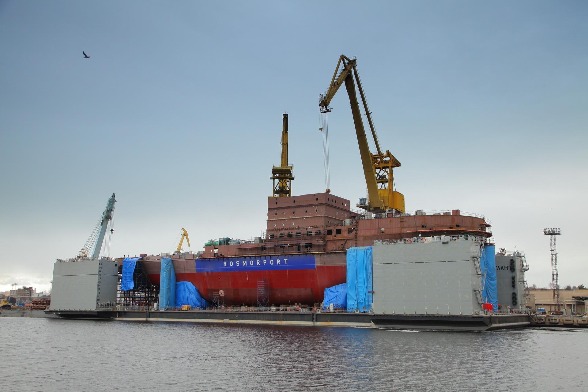 """Головной ледокол проекта 21900 М назван именем города """"Владивосток"""""""