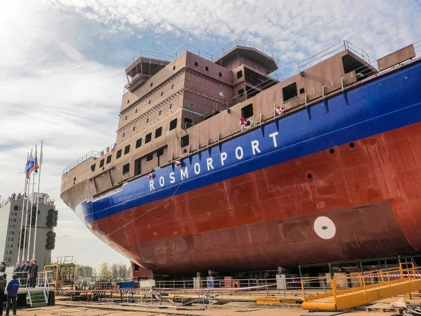ледокол проекта 21900М «Владивосток» для «Росморпорта»