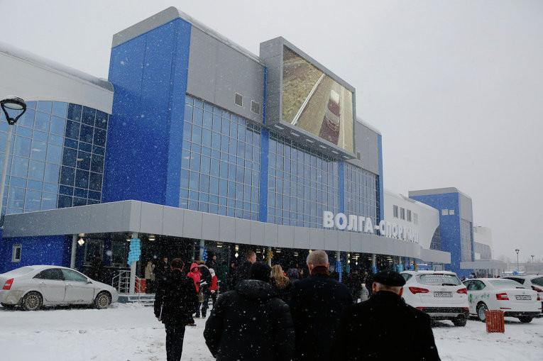 В Ульяновской области открыт один из крупнейших в России ледовых дворцов