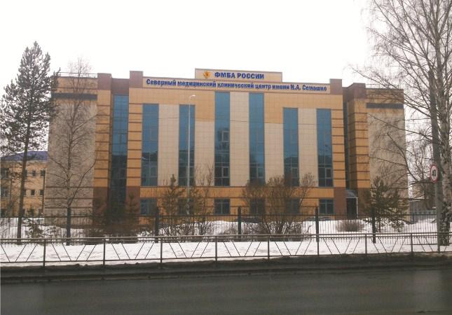 Новый модуль Северного медицинского клинического центра имени Н. А. Семашко построен в Архангельске