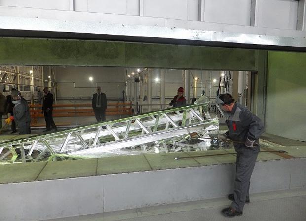 В Вахрушах Кировской области построили новый цех металлоконструкций