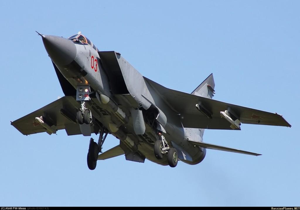"""Аэродром """"Хотилово"""" начал перевооружаться на модернизированные МиГ-31БМ"""