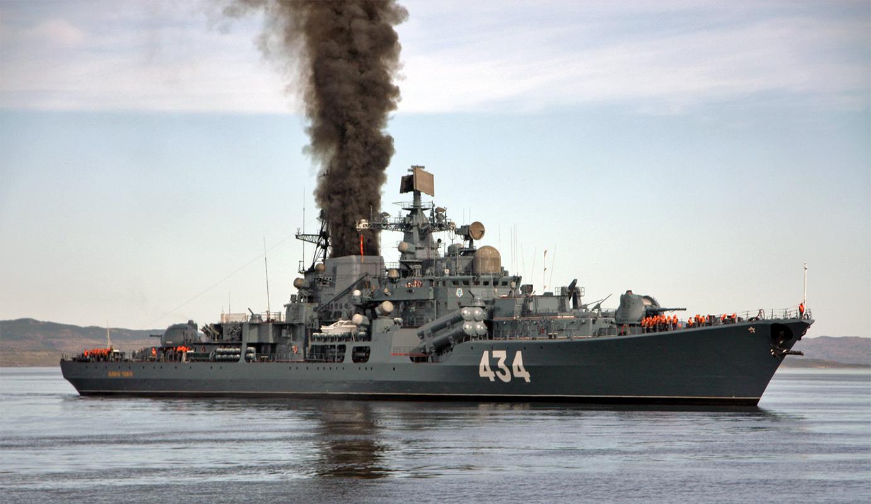 Корабли Северного флота проверили надежность ПВО