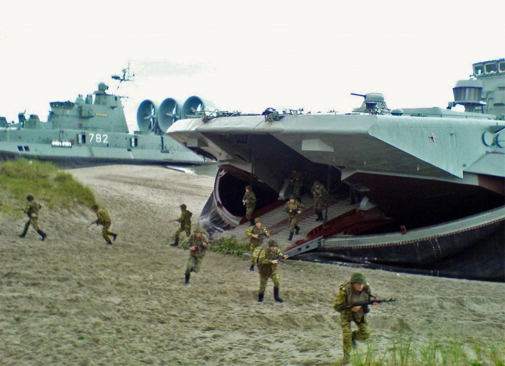 малый десантный корабль на воздушной подушке (МДКВП) «Мордовия»