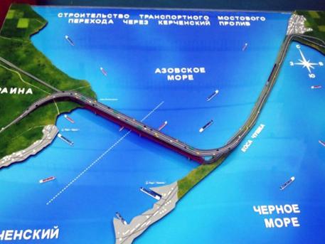 Мост за 100 миллиардов рублей будет построен на Крымском полуострове