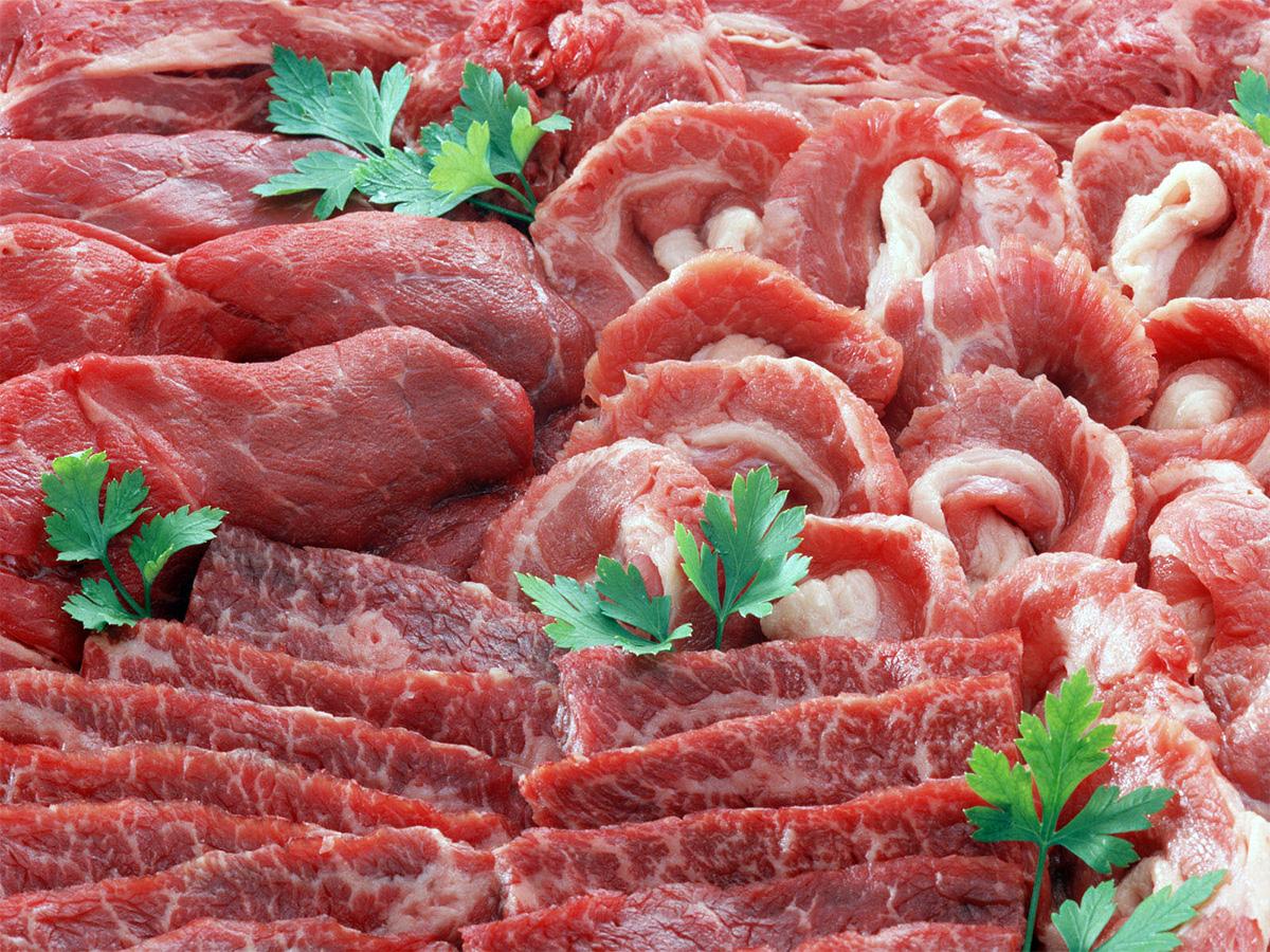 Производство мяса в России в первом квартале 2014 года выросло на 4,5%