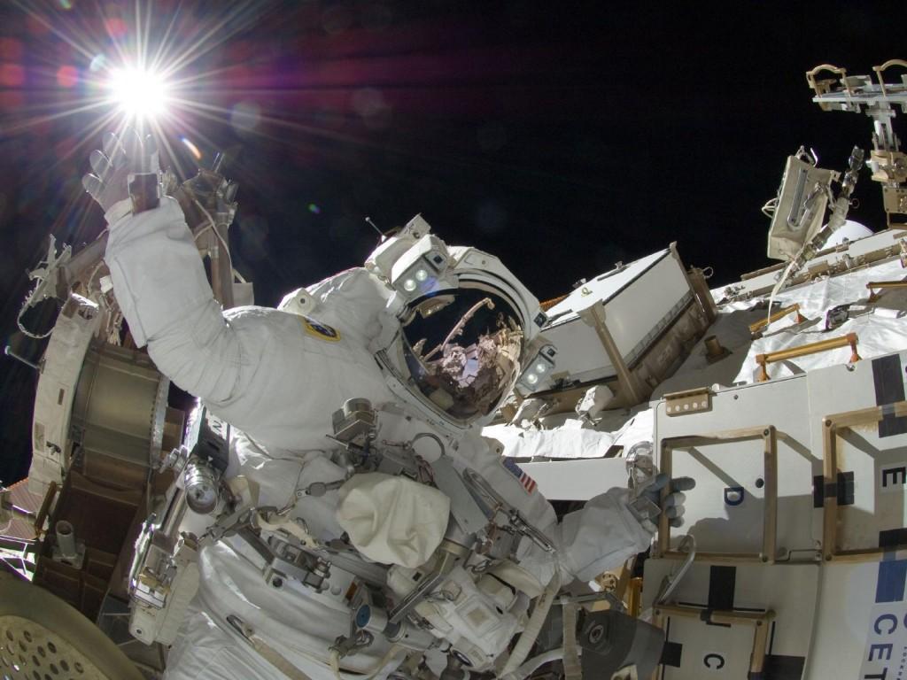 Американский астронавт nasa