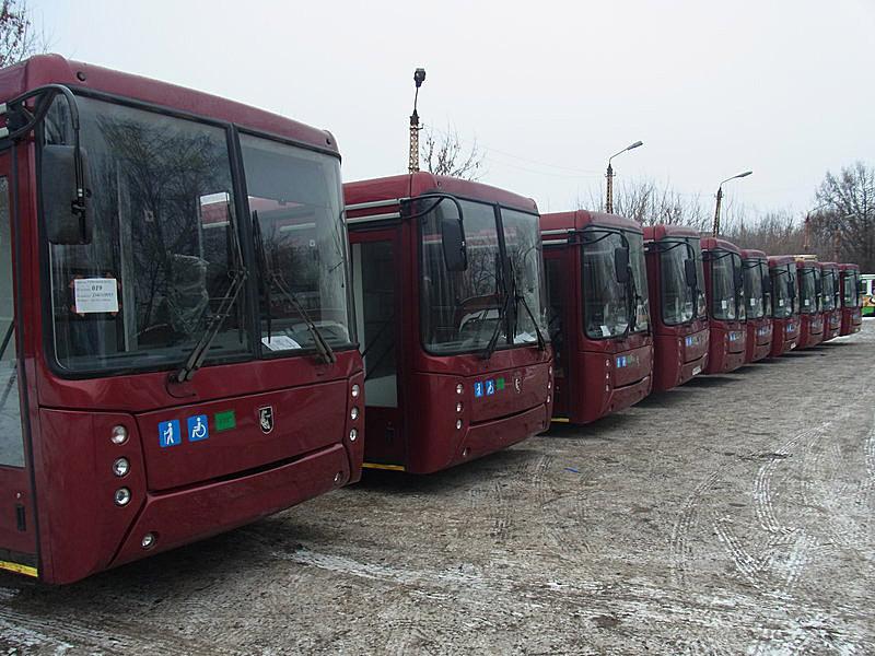 НЕФАЗы для Тулы - 50 пассажирских автобусов