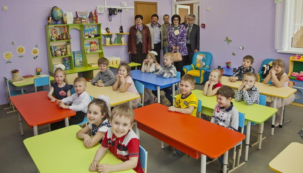 Новый детский сад открылся в подмосковном Хотькове