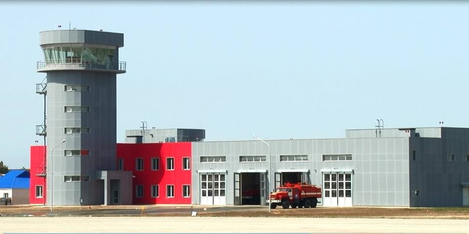 В аэропорту Анапы открылась аварийно-спасательная станциия