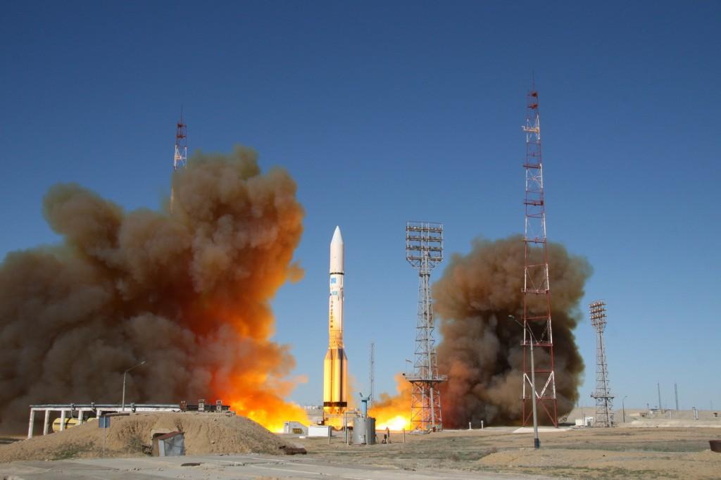 Спутники связи «Луч-5В» и «КазСат-3» выведены на расчетную орбиту