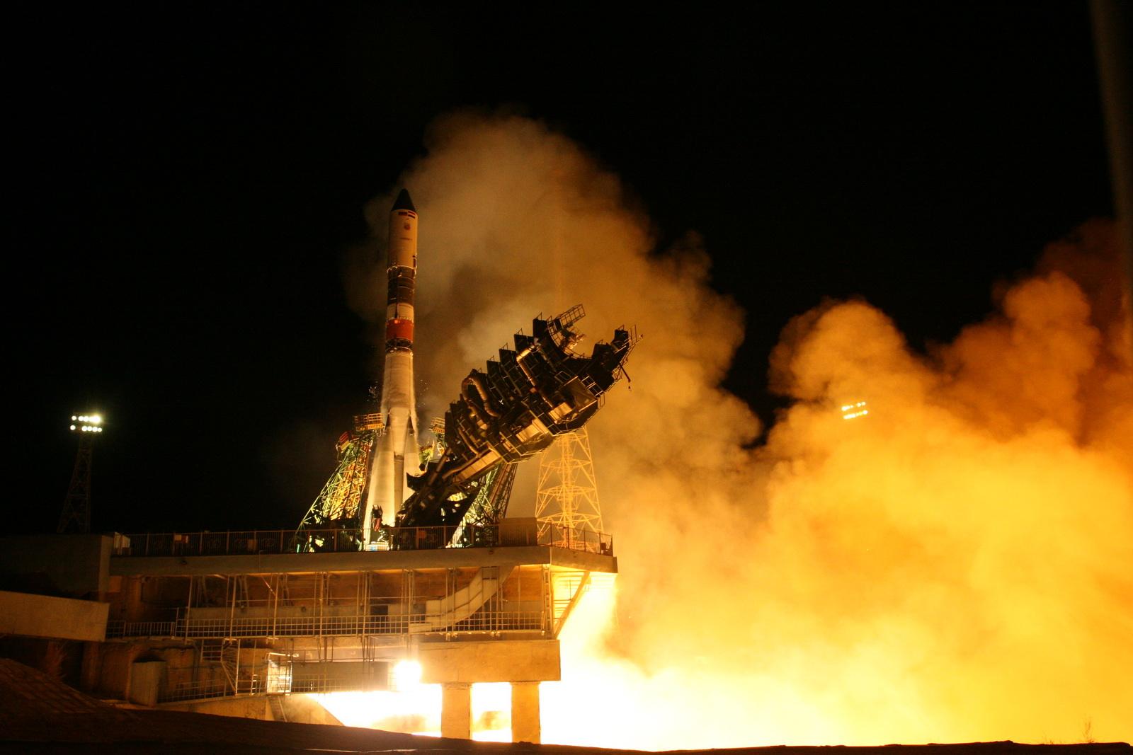 Ракета-носитель «Союз-У» вывела на орбиту египетский КА «Иджипсат»
