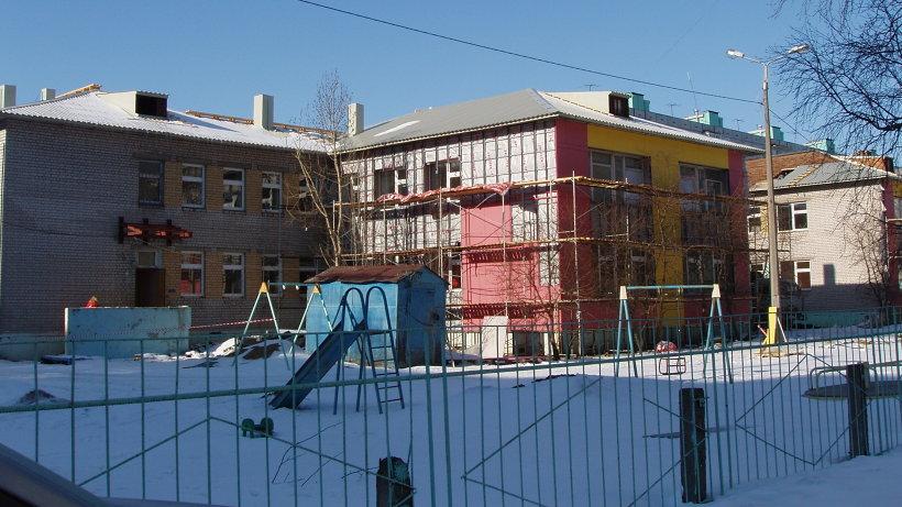 Обновленный детский сад на ул. Полины Осипенко в Архангельске сможет принять сразу 220 малышей