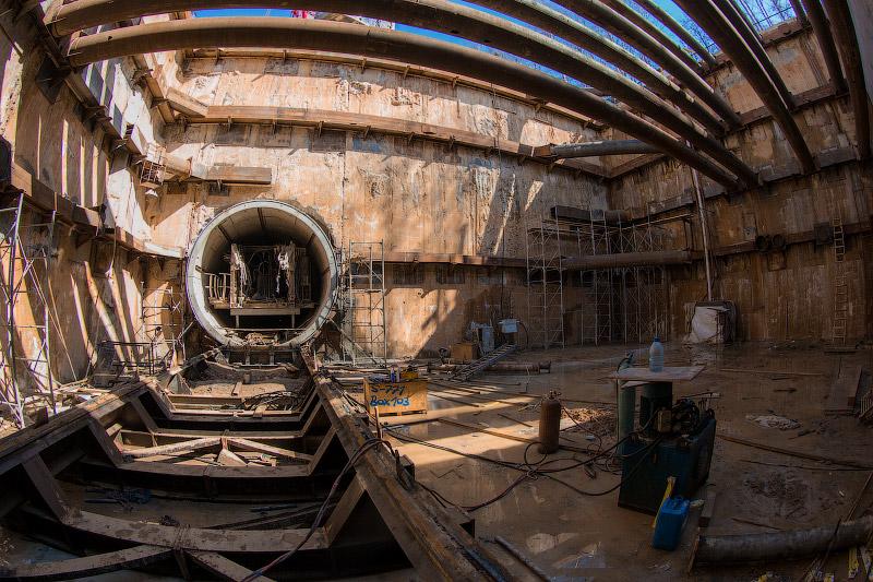 "Строительство станции ""Румянцево"" - фотоотчет"