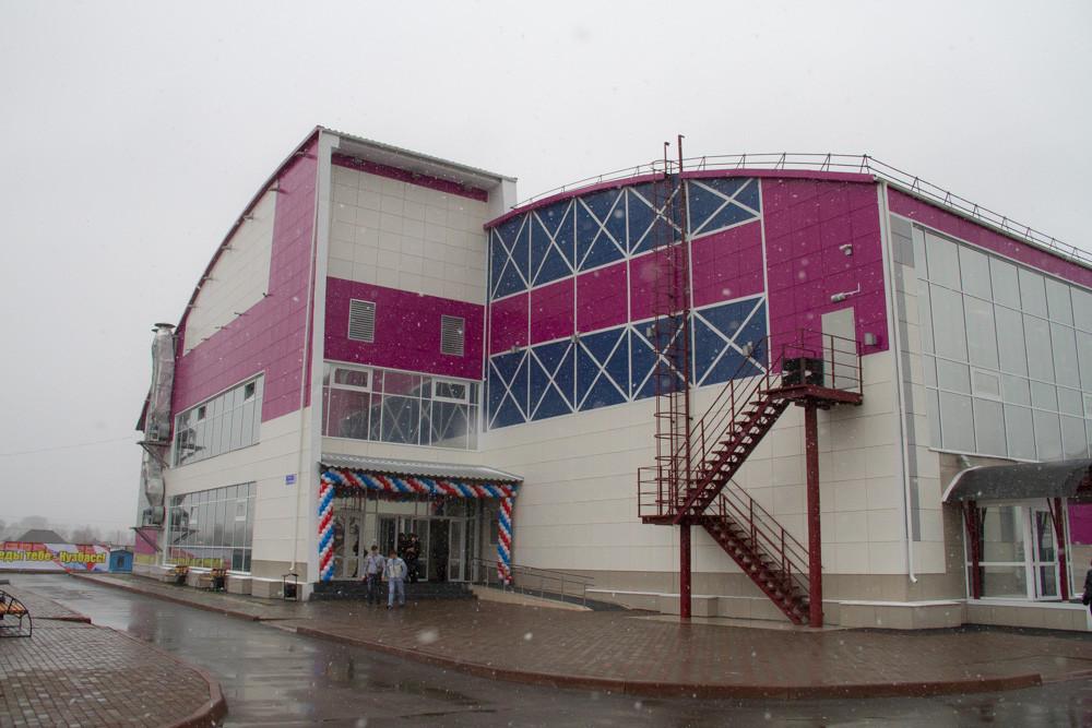 В Ленинске-Кузнецком Кемеровской области открыт новый спортивный комплекс