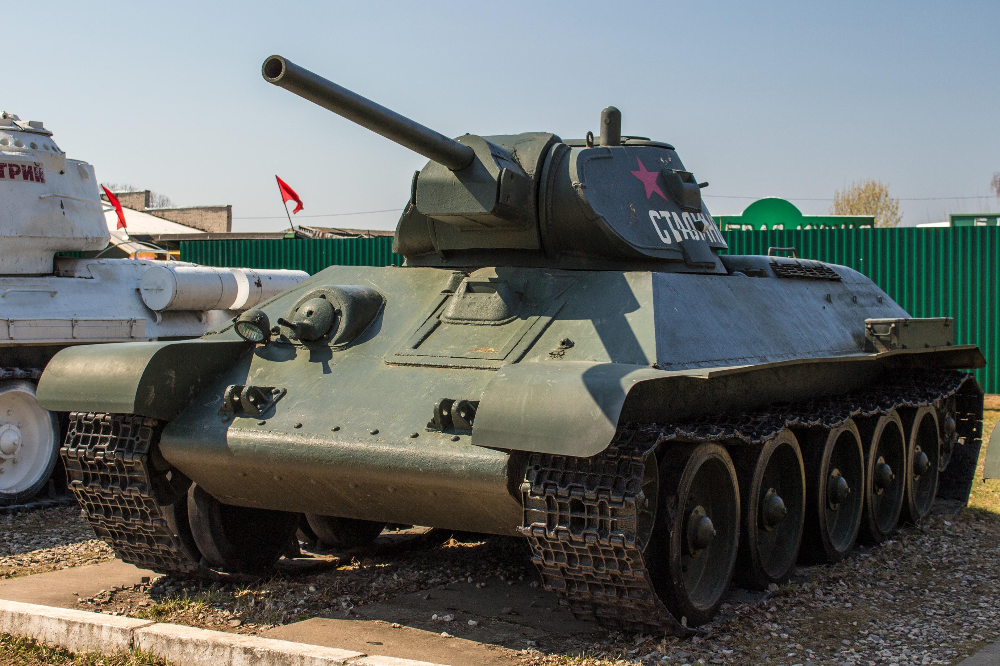 Средний танк Т34