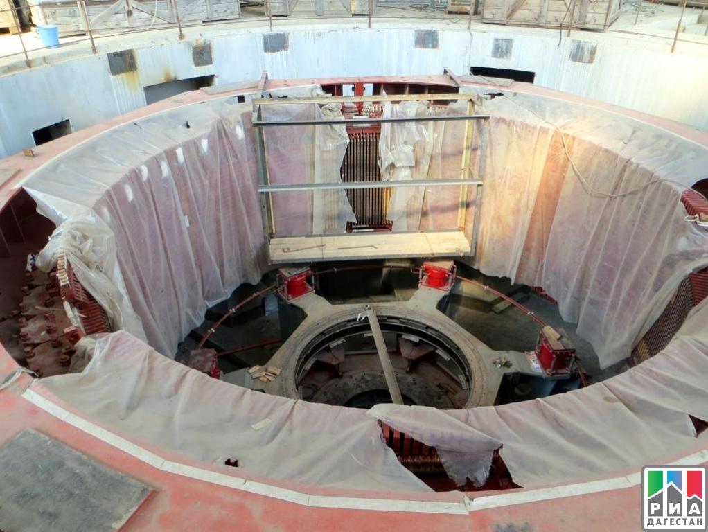 Строители Гоцатлинской ГЭС завершили монтаж гидротурбин