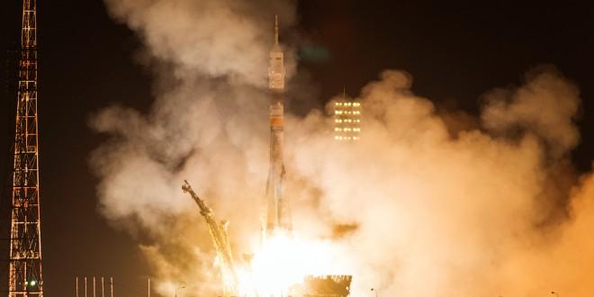 """Космодром Байконур. Запуск """"Союз ТМА-12М"""" на МКС"""