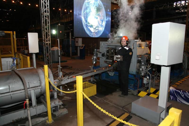 Новое производство запущено на Череповецком металлургическом комбинате