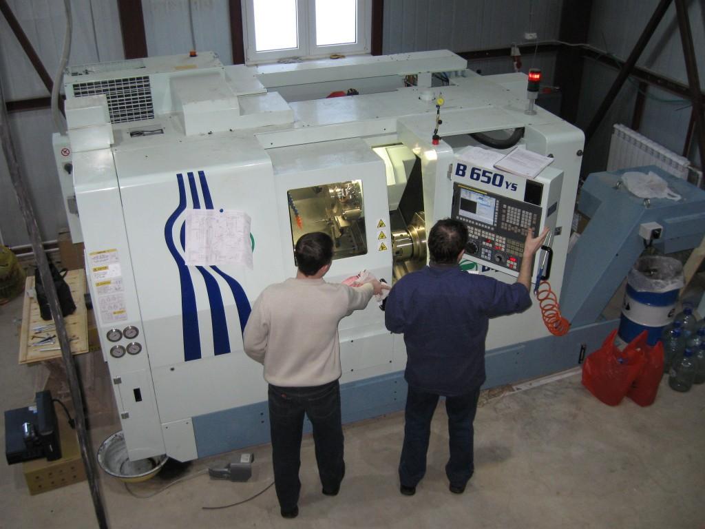 Работа с токарно-фрезерным обрабатывающим центром