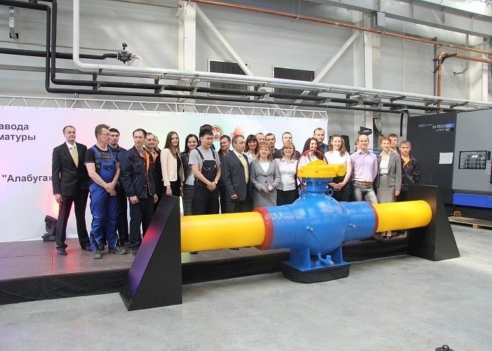 RMA Pipeline открыла в Татарстане самый крупный из своих заводов