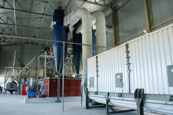 В Ульяновской области введён в эксплуатацию второй по величине в России пеллетный завод