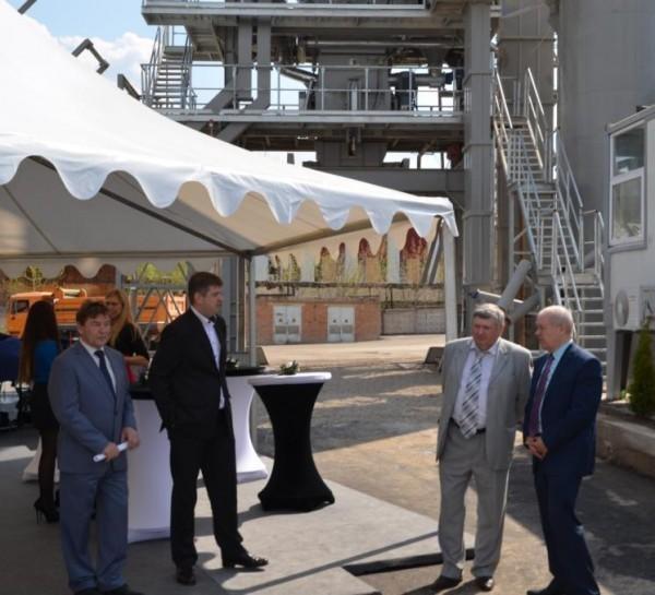 В Калуге открылся новый асфальтобетонный завод