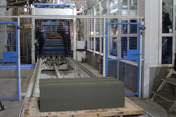 Новое бетоноформовочное производство заработало в Ивановской области