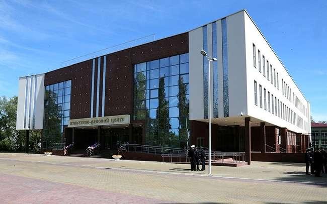 В Борисове Калининградской области появился современный культурно-деловой центр