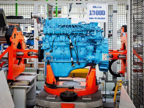 В Ярославле выпустили 10000-й двигатель Евро-4