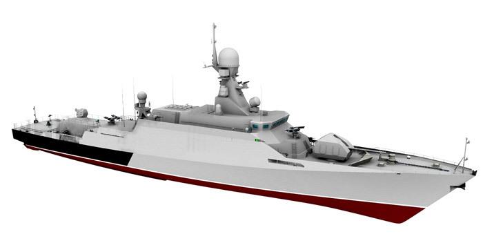 Спущен на воду малый ракетный корабль «Великий Устюг»