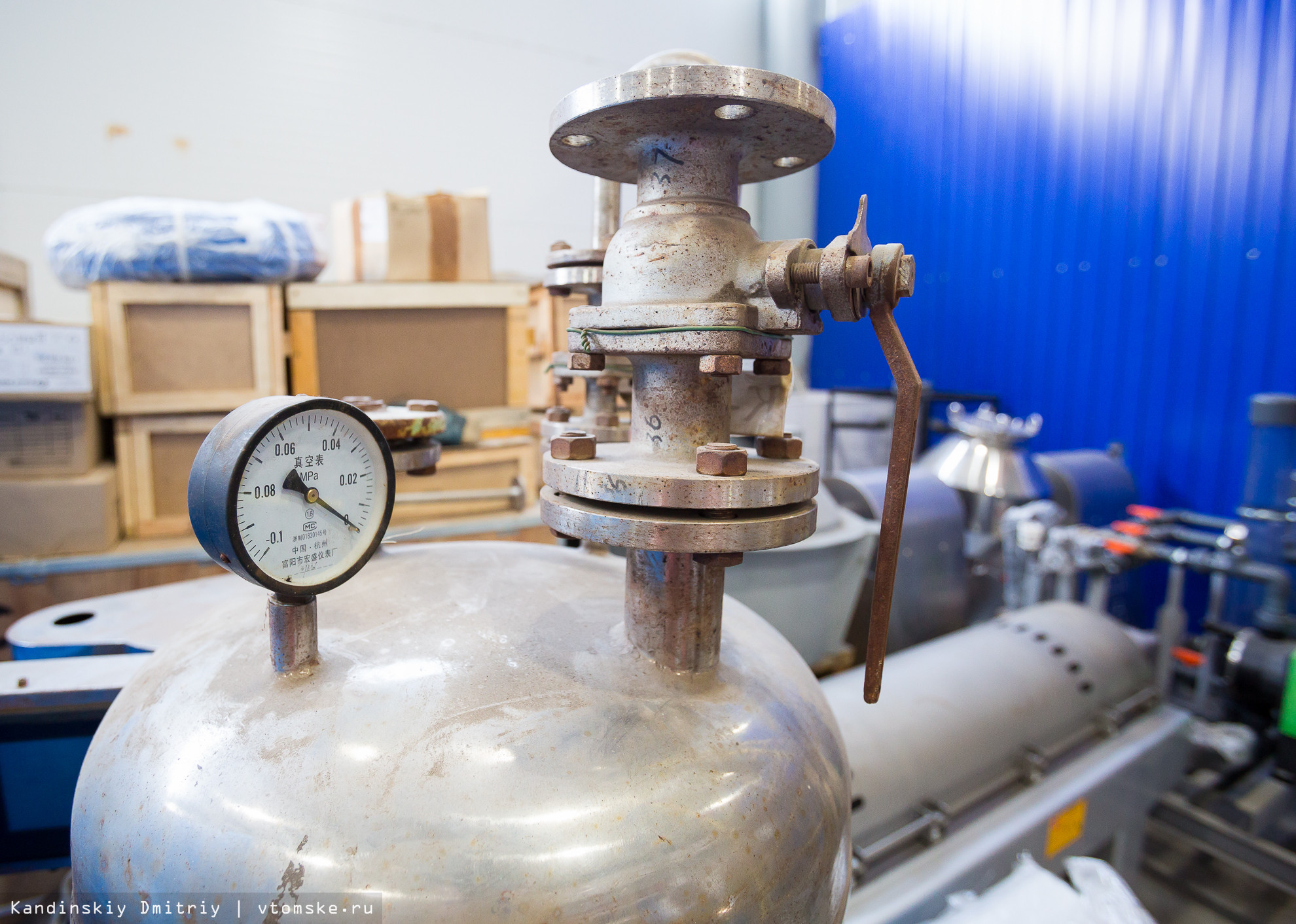 В Томске открыт первый за Уралом Инжиниринговый химико-технологический центр