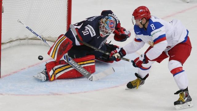 Россия и США, хоккей счет 6:1